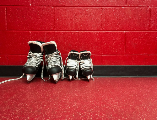 Hockey Skates Vs Figure Skates- A Collation Of Two Items